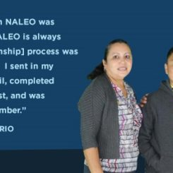 "#GivingTuesday 2017: ""Getting help from NALEO was something big! NALEO is always there!"""